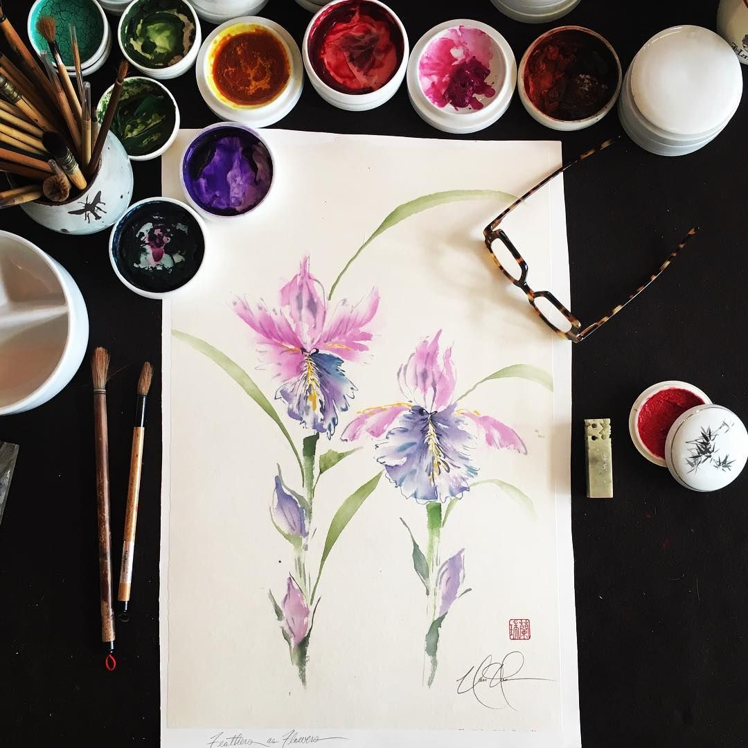 Nan Rae Fine Art On Instagram Every Artist Dips His Brush In