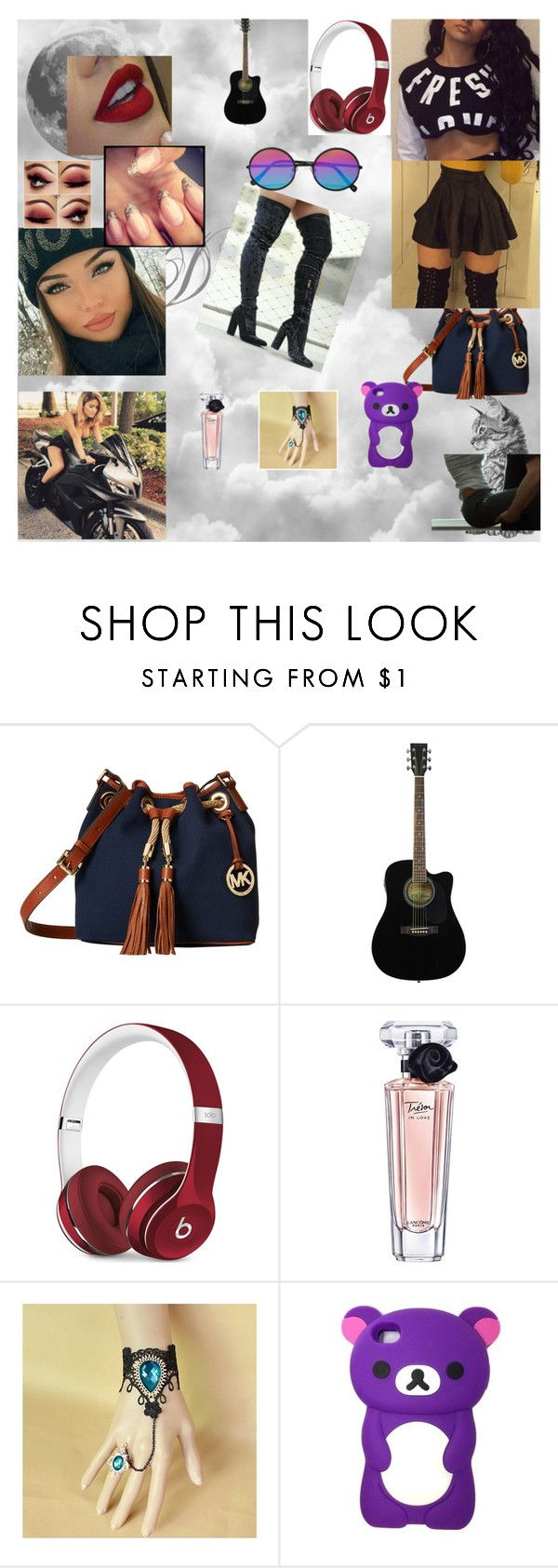 """Fresh"" by nikoleta-nicky-malik ❤ liked on Polyvore featuring JuJu, MICHAEL Michael Kors, Beats by Dr. Dre, Lancôme and Sunday Somewhere"