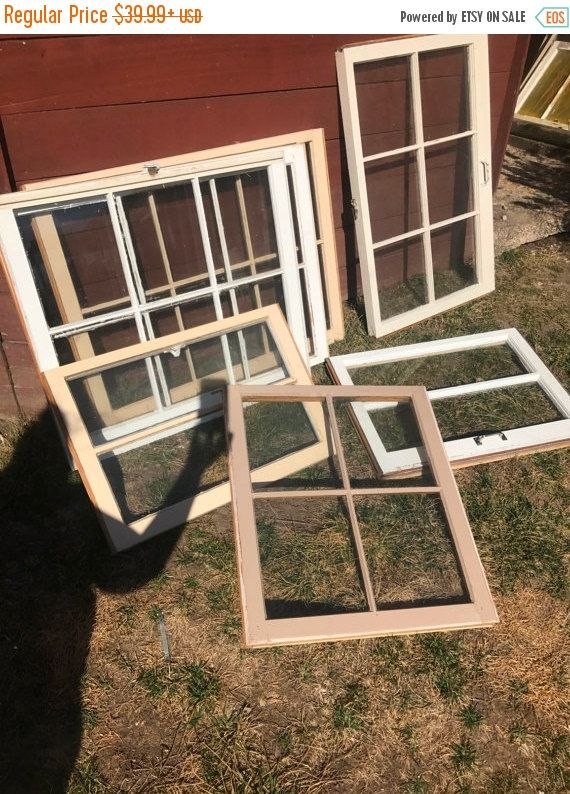 On Sale Wood Window Frames Wood Window Panes By Sandjbargainvault Wood Window Frame Rustic Window Frame Window Frames