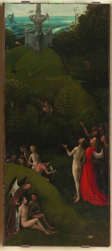 """Jheronimus Bosch, Altarpiece of the afterlife Visions. Credit © Picture Galleries of the Academy, """"permission of the Ministry of goods and cultural activities and tourism. National Museum of the Accademia Galleries of Venice """""""
