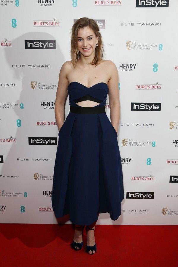 Stefanie Martini At Hurricane film premiere, London, UK