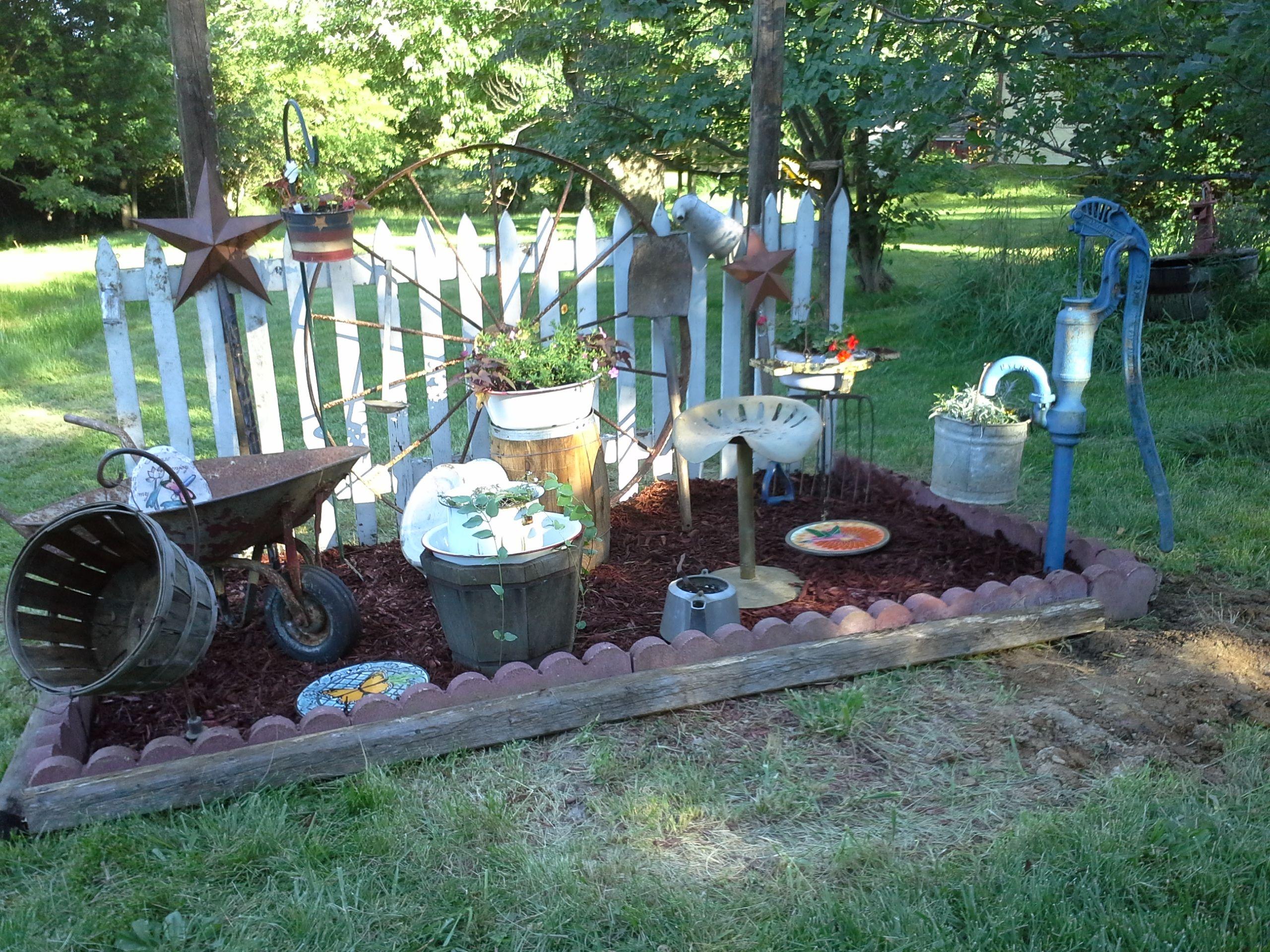 my primitive garden