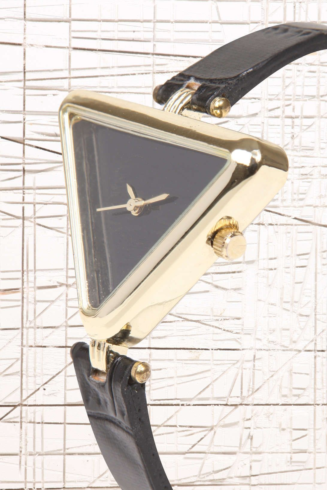 Triangle Face Watch at Urban Outfitters