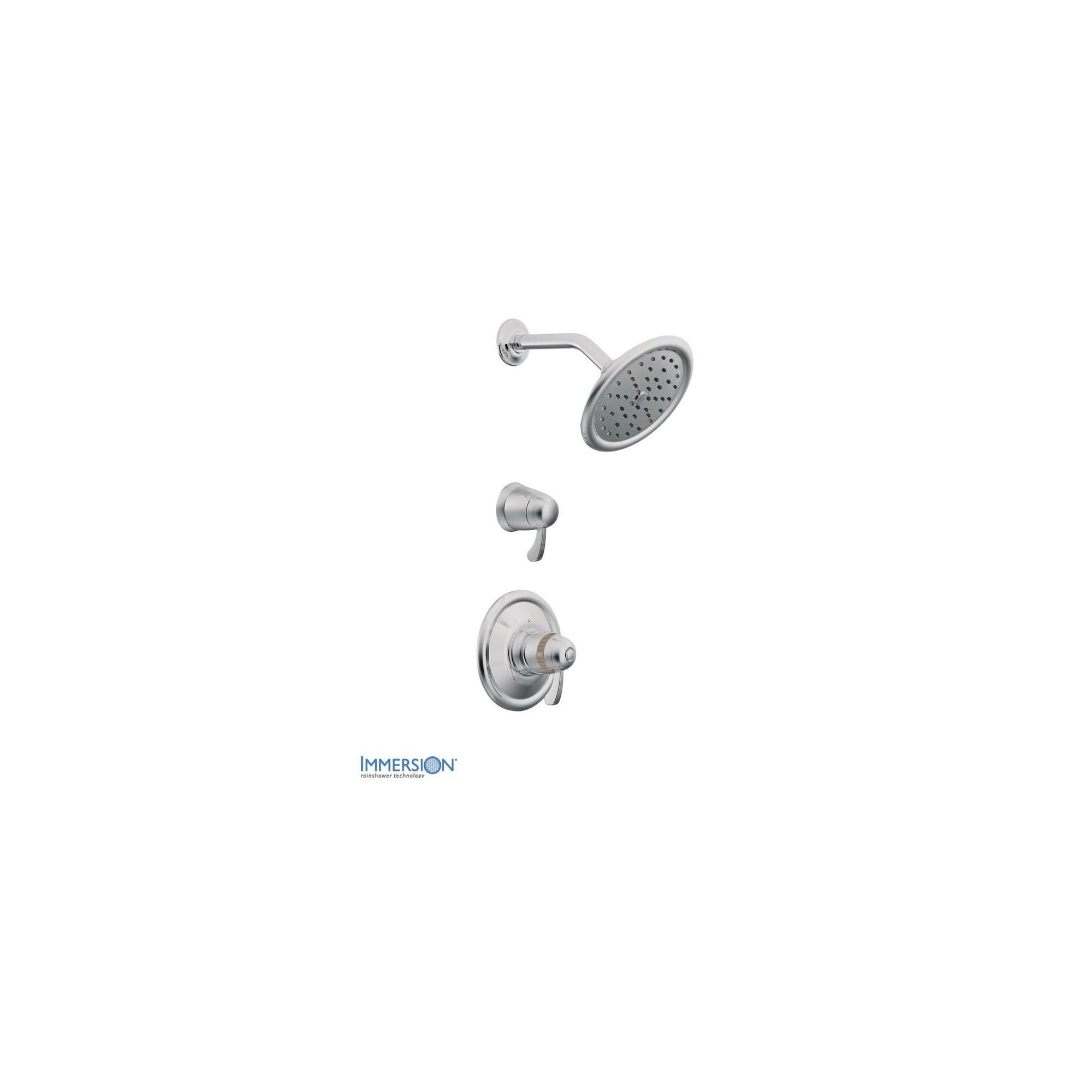 Moen Ts3400 Double Handle Exacttemp Thermostatic Shower Trim With