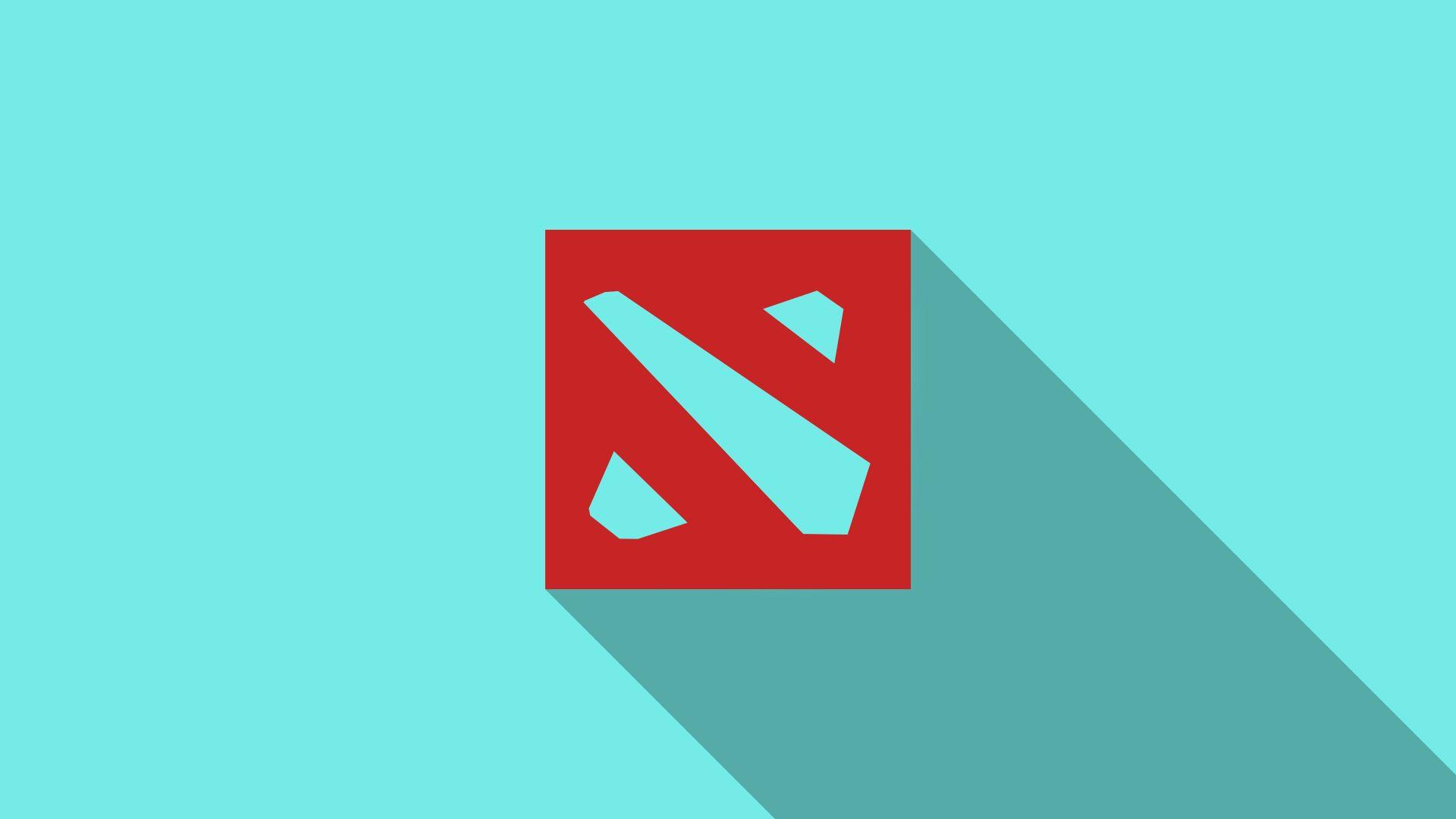 dota 2 logo wallpaper hd for desktop