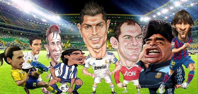 34 trocadilhos hilariantes com nomes de jogadores de futebol