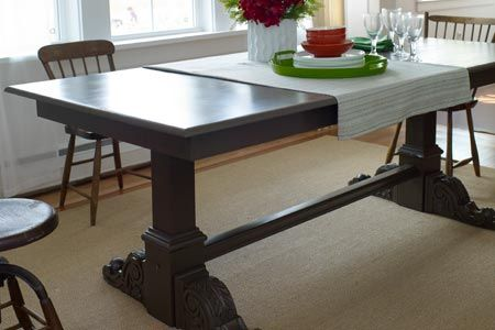 Photo Wendell T Webber Thisoldhouse From How To Make A Trestle Table