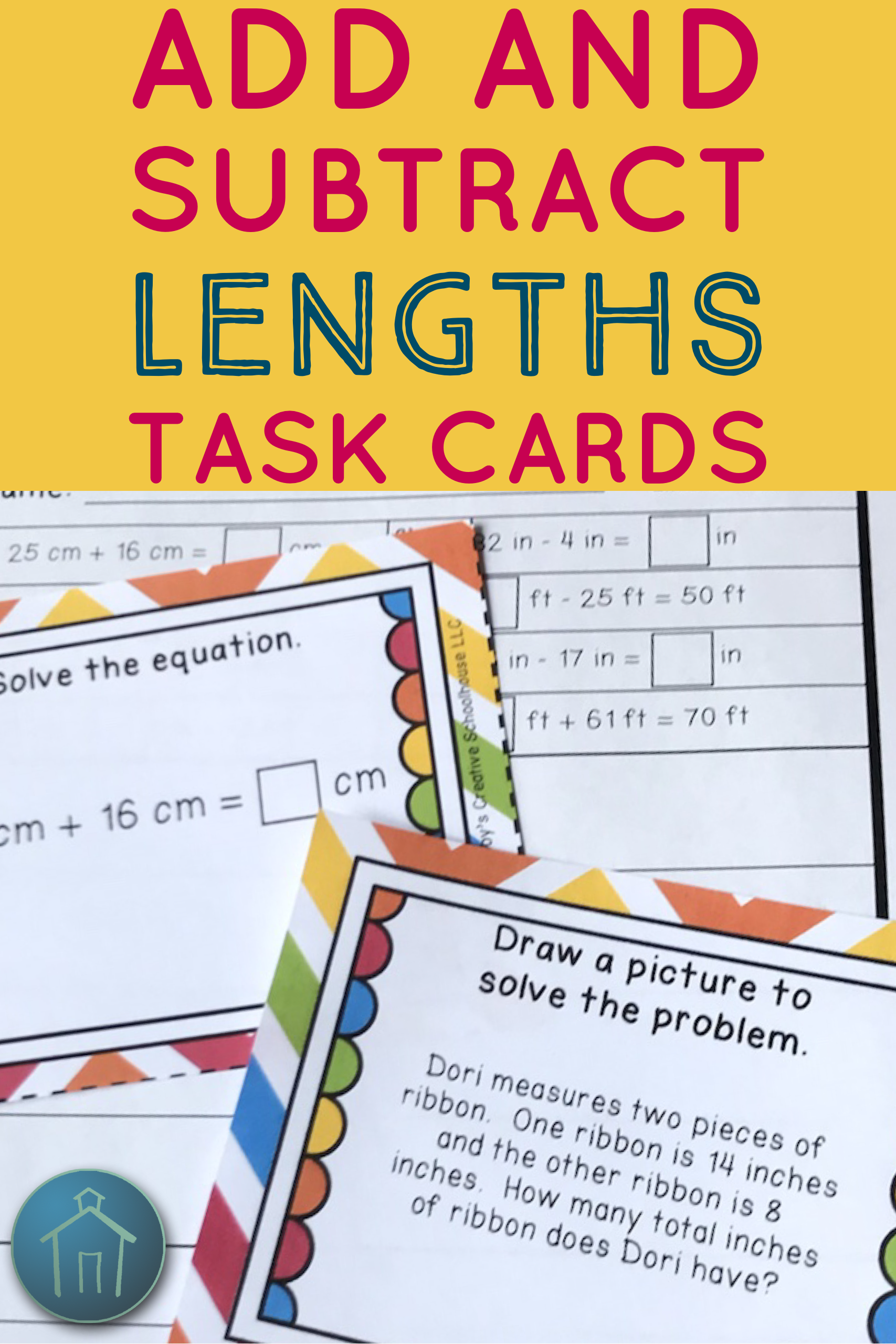 2 5 Add And Subtract Within 100 With Lengths Word