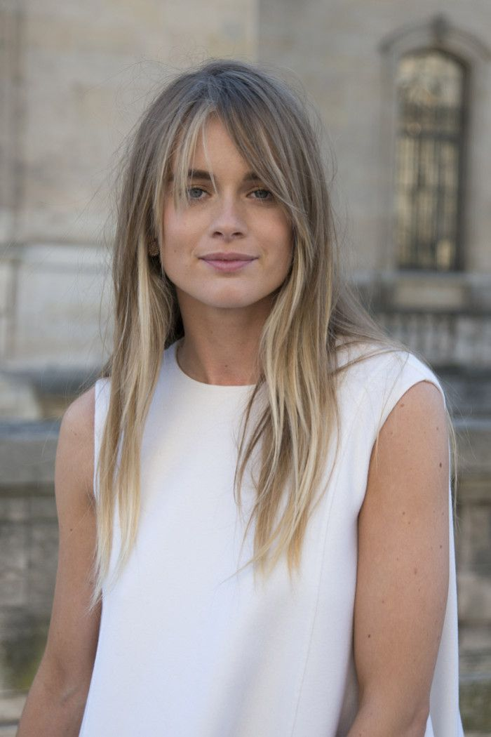 Why The Stars Love The Gringe Trend Hair Grazia Daily Thin Hair
