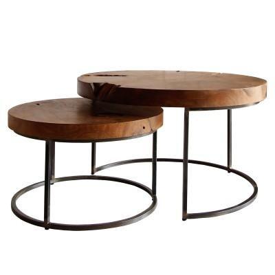 Slab Nesting Pr Coastal Living Table Stump Table Tree