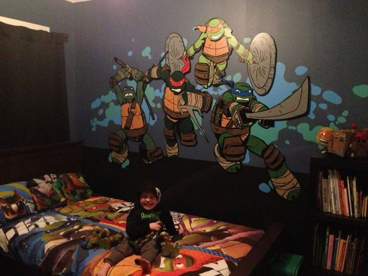 Looking for some groovy ninja decor  This fun collection of Teenage Mutant  Ninja Turtles themed decor features stylish  fun and practical room  accessories. ninja turtle bedroom ideas   Teenage Mutant Ninja Turtles Bedroom