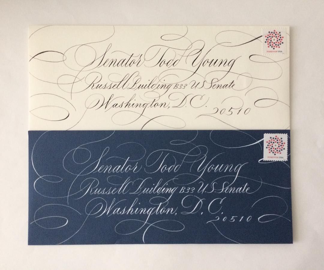 Fancy Envelopes Decorated Envelopes Calligraphy Text Caligraphy