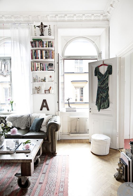 Amelia Y Andreas House Parisian Apartment Dream White York