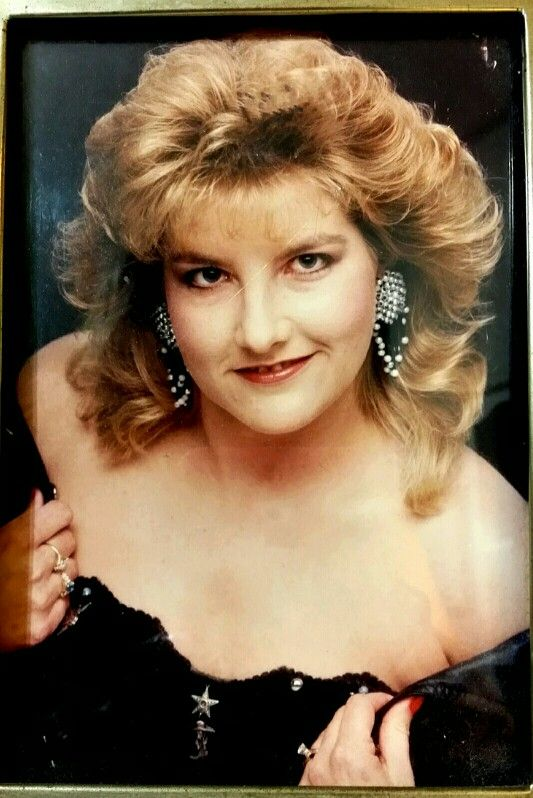 1989 Glamor Shot Photo Of Lisa My Pics Jewelry Pearl Necklace