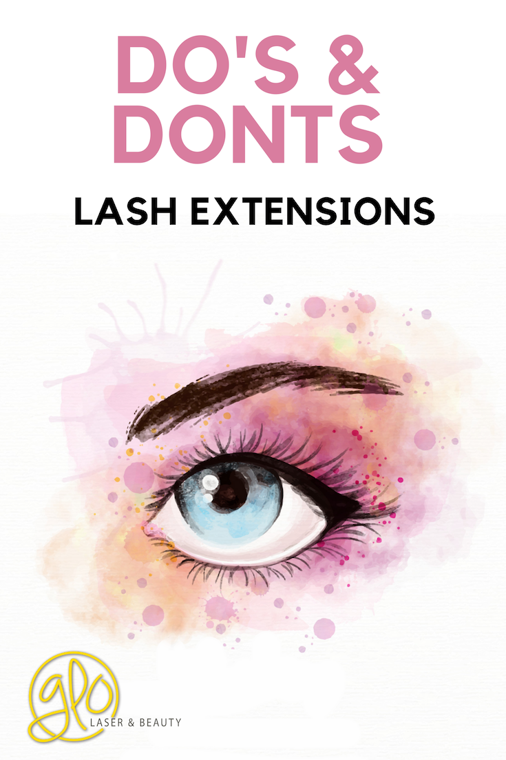 8a56739c2b5 Your Lash extension Do's & Don'ts | Skin | Lash extensions, Lashes ...