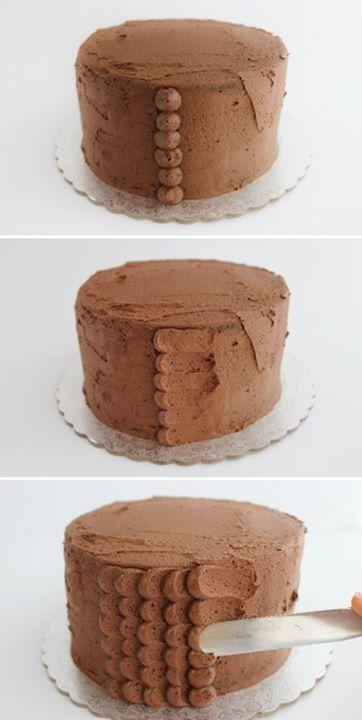 No sabes c mo decorar tu pastel f cil y r pido qu tal for Como decorar una torta facil y rapido