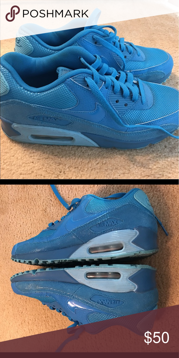 bbc19683d0 ... running shoes by glitter kicks customized with swa f92d4 b72fa;  wholesale nike air max blue us size 8 these are the nike air max 90 in