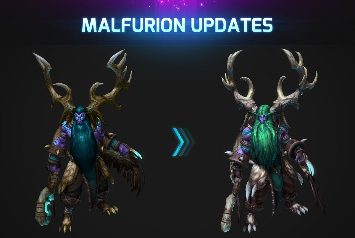 Heroes Of The Storm Malfurion Updates Heroes Of The Storm Hero Poster Malfurion is regarded as one of the better healers in the heroes scene, but if the road to blizzcon has taught us anything it is that malf's heals have a. pinterest