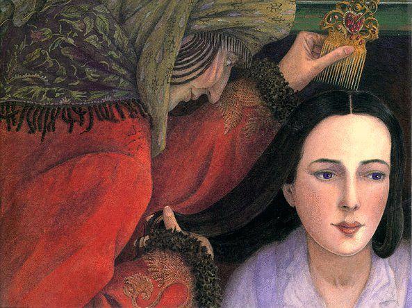 Snow White - Biancaneve by Angela Barrett