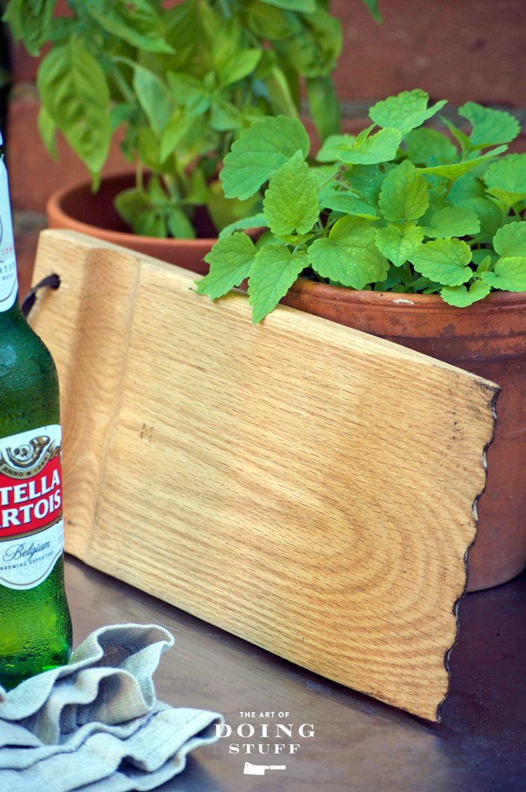 DIY a BBQ grill brush out of a piece of wood.   Pinterest   Grilling ...