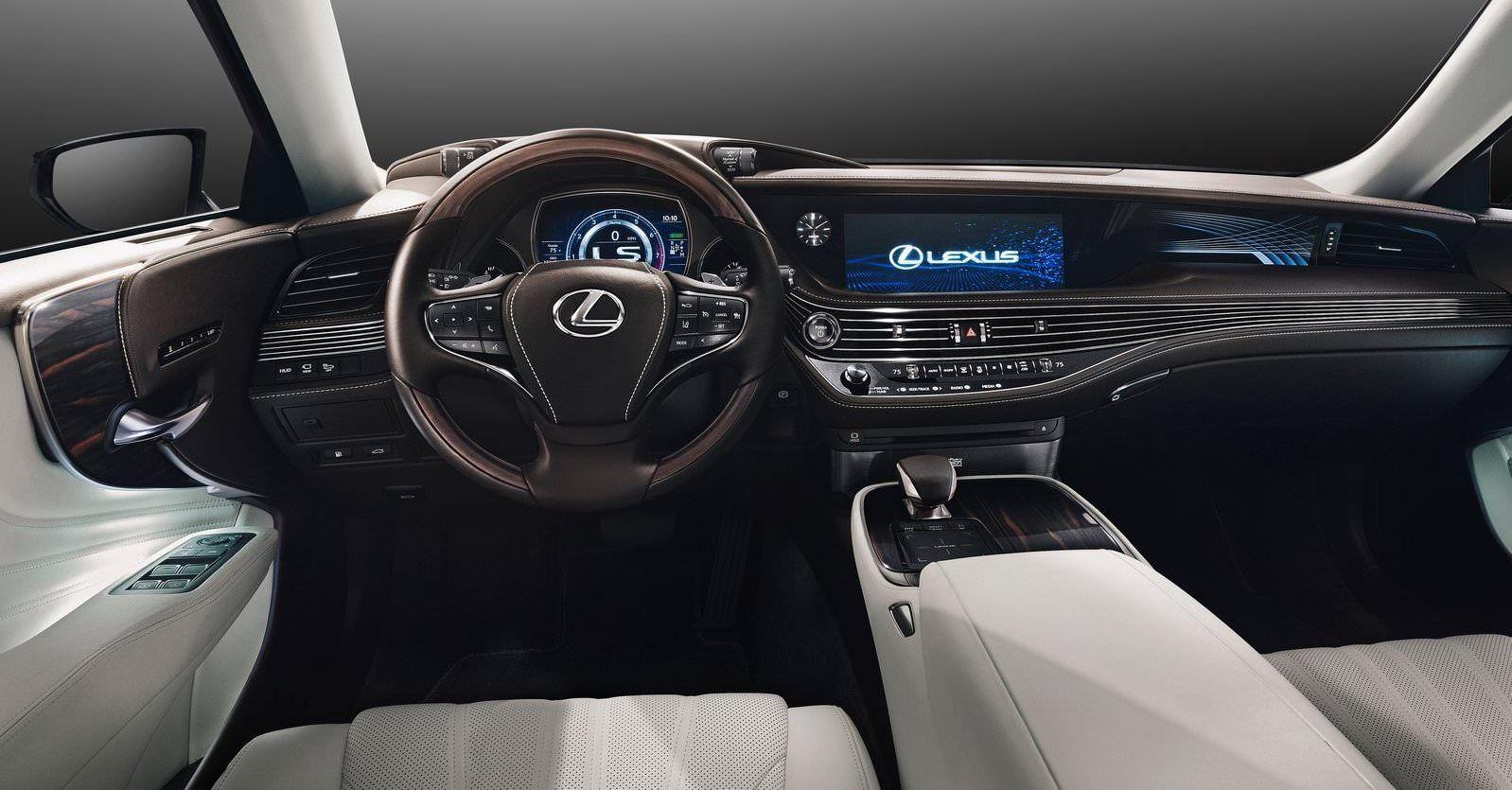 Https Www Drivelife Co Nz Wp Content Uploads 2017 03 2018 Lexus Ls Interior 01 Jpg In 2020 Lexus Ls Lexus Interior