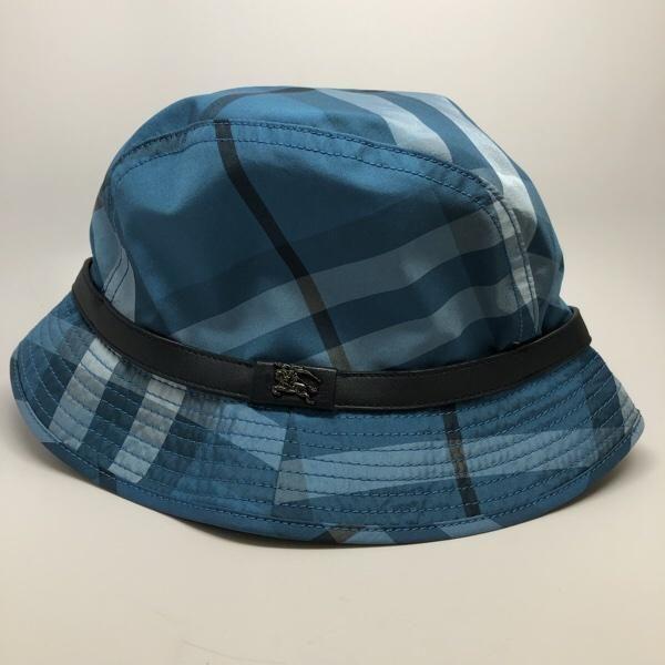 33880aa5ad9 Burberry Nova Check Bucket Hat Blue  145 Size Medium  burberry  NSE   northshoreexchange US