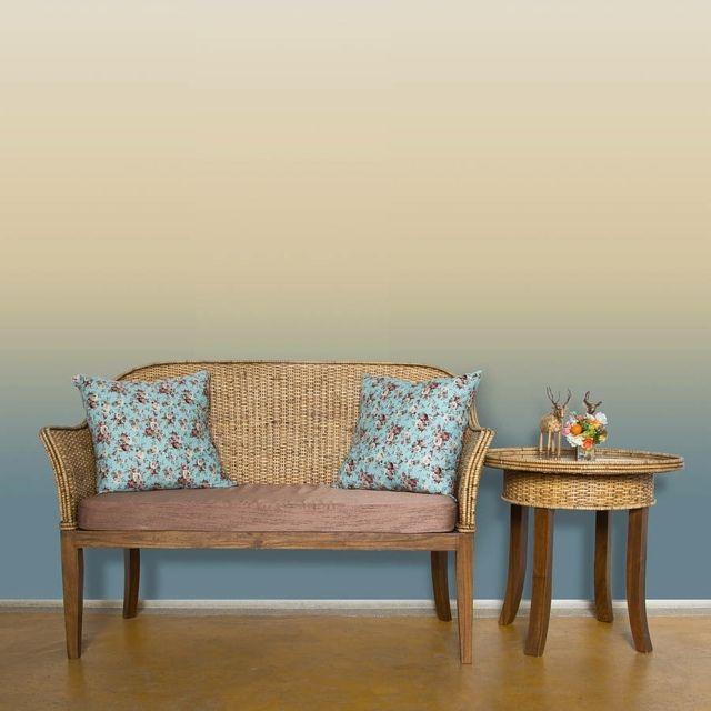 wohnzimmer wandgestaltung ombre wand streichen coloriertes pinterest w nde streichen. Black Bedroom Furniture Sets. Home Design Ideas