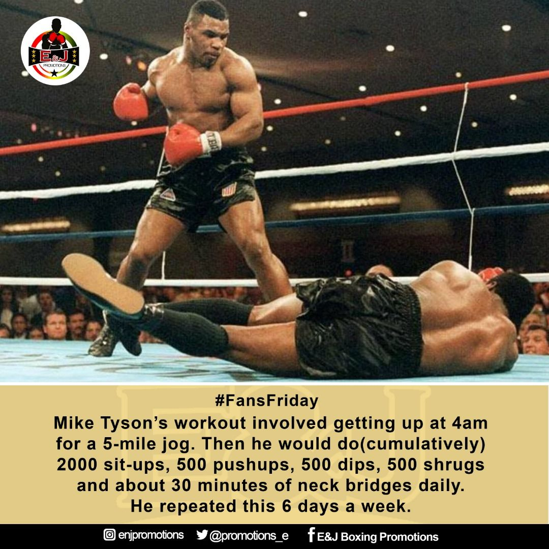 Pin By E J Promotions On Motivational Quotes Mike Tyson Workout Workout Mike Tyson