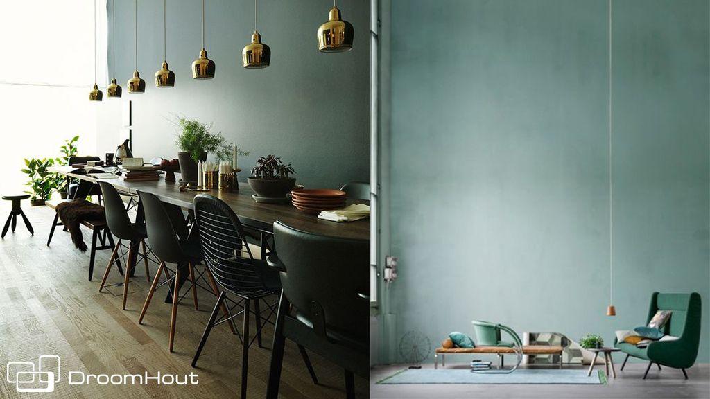 woonkamer groen muur   Dit bericht werd geplaatst in Mooi design van ...