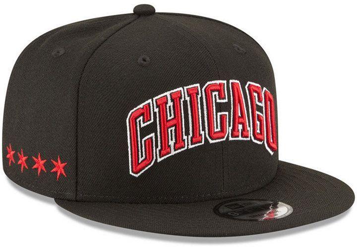meet baa44 543ab New Era Chicago Bulls Statement Jersey Hook 9FIFTY Snapback Cap