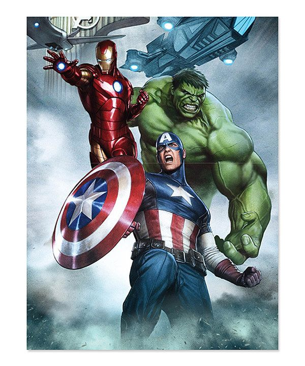 Look at this Avengers LED Portrait Canvas on #zulily today!