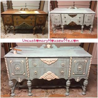 Distressed Antique Furniture Throughout Distressed Antique Furniture diy Table Chairs Buffetdresser And China Cabinet All Diy Wood Furniture Beforeandafter