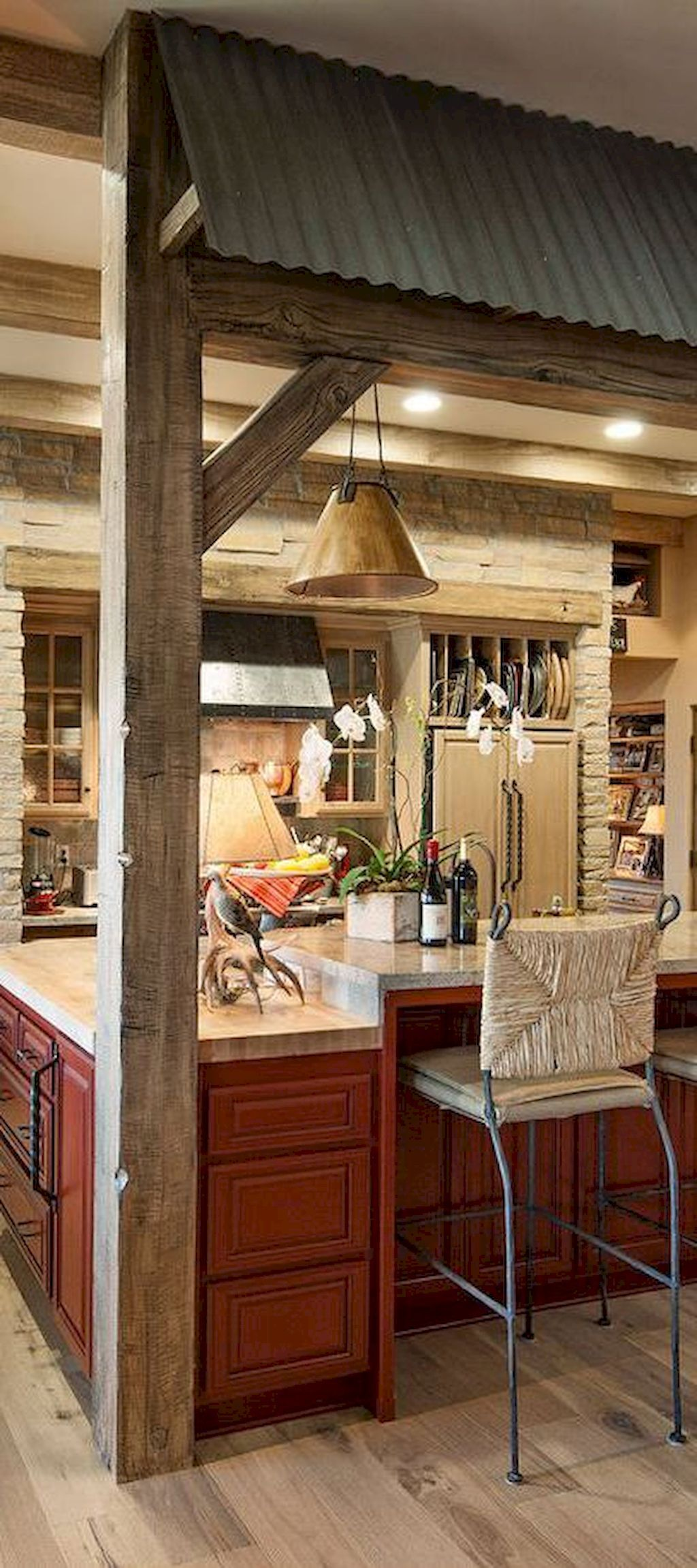 80 Rustic Kitchen Cabinet Makeover Ideas