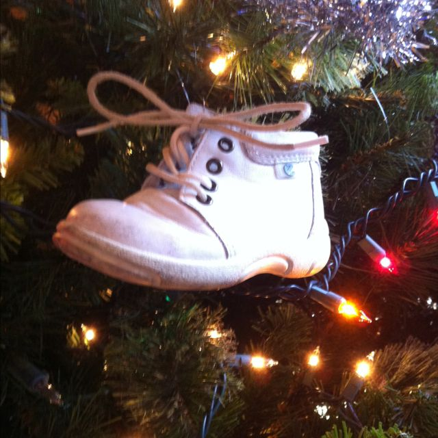 My kids baby shoes are some of the best ornaments on the tree!