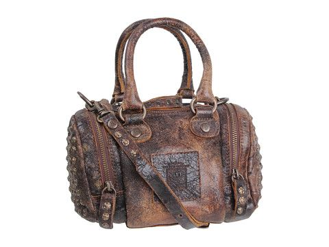 6d309caa2a3 Frye Brooke Small Satchel Chocolate Vintage Leather - Zappos.com Free  Shipping BOTH Ways
