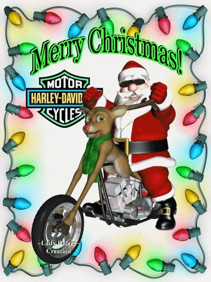 harley davidson christmas pictures