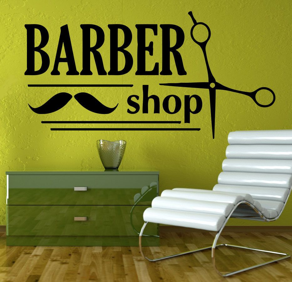 Free Shipping DIY Hair Beauty Salon Vinyl Decal Barber Shop Sign - Custom vinyl wall decals for hair salonvinyl wall decal hair salon stylist hairdresser barber shop