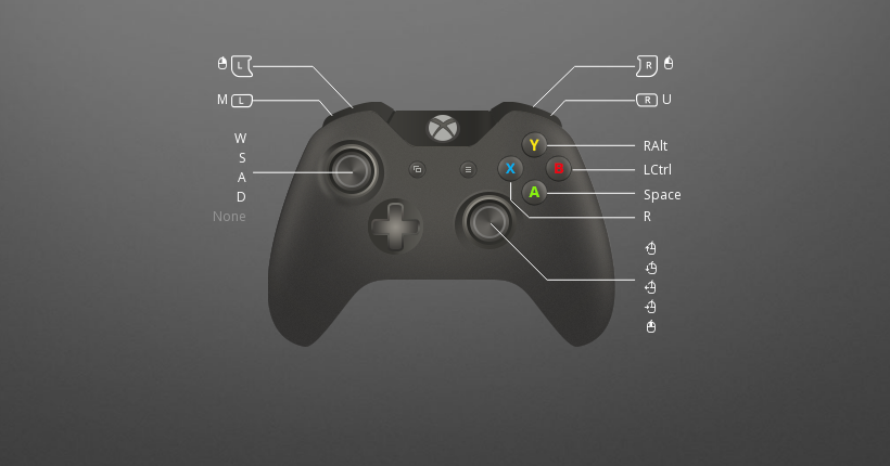 Download Black Squad Xbox controls to remap gamepad on PC