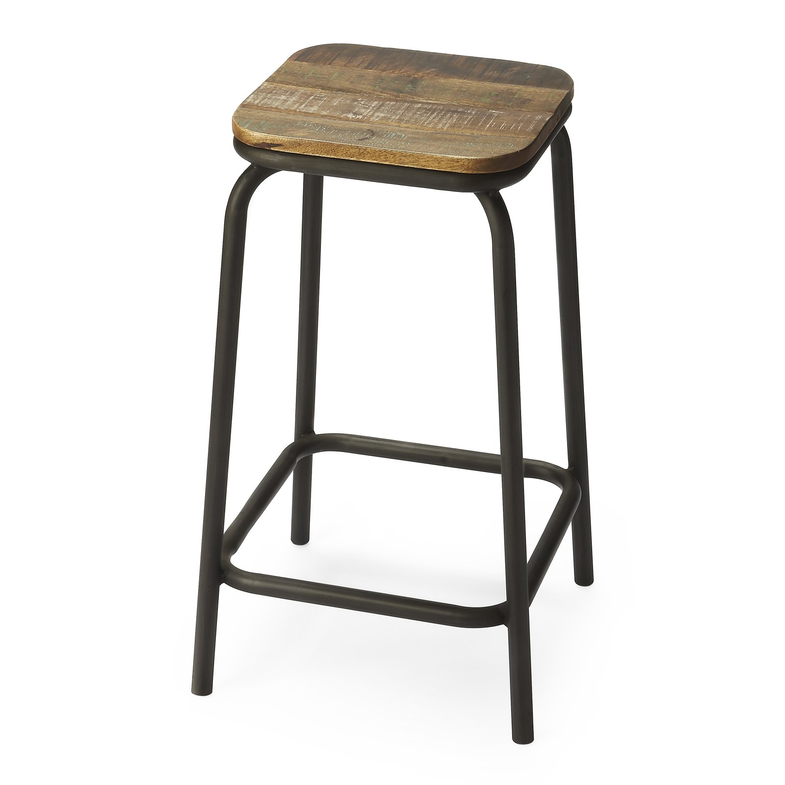 Awe Inspiring Butler Specialty Davis Industrial Chic 25 In Bar Stool In Unemploymentrelief Wooden Chair Designs For Living Room Unemploymentrelieforg