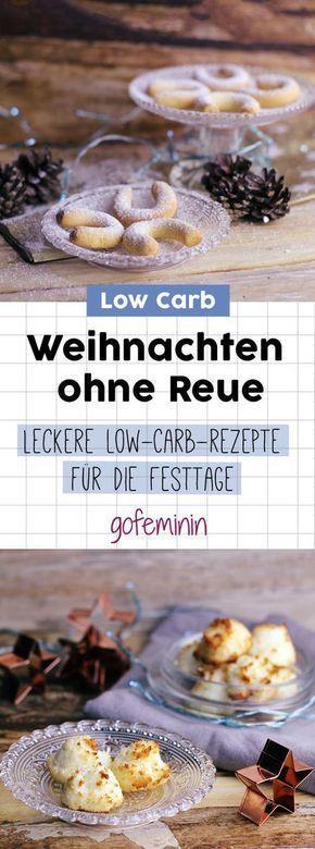 Wenig Kohlenhydrate, viel Geschmack: 3 leckere Rezepte für Low-Carb Plätzchen Check more at...