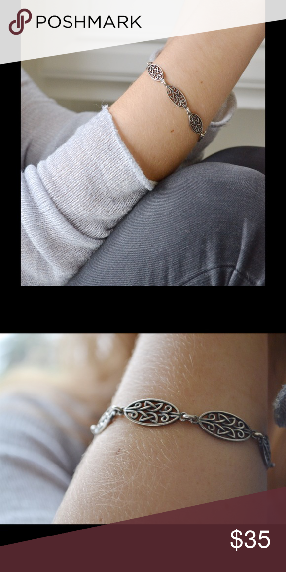 Silver Celtic Bracelet This is a beautiful and authentic Celtic bracelet. It is perfect for any casual occasion, this bracelet will be your new favorite everyday accessory. Jewelry Bracelets