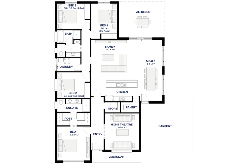 Hickinbotham - Display Homes & Home Designs | House plans ...