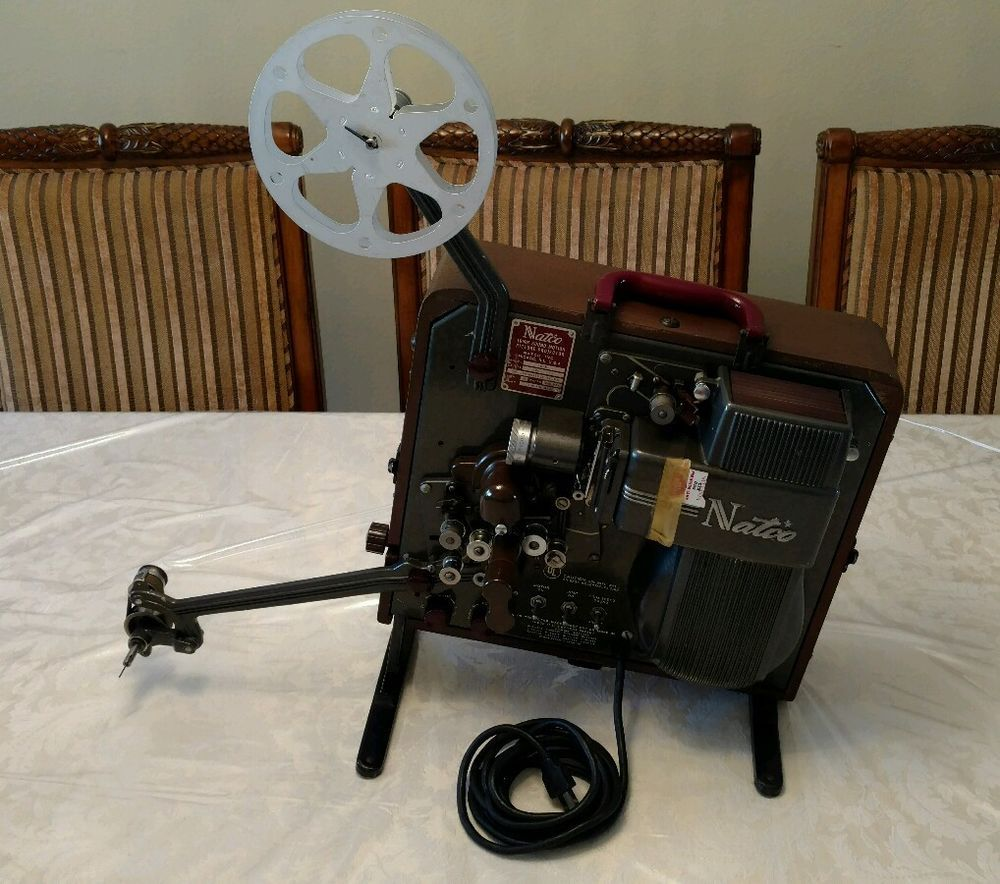 Vintage Natco 3030-1 16mm Sound Motion Picture Projector &