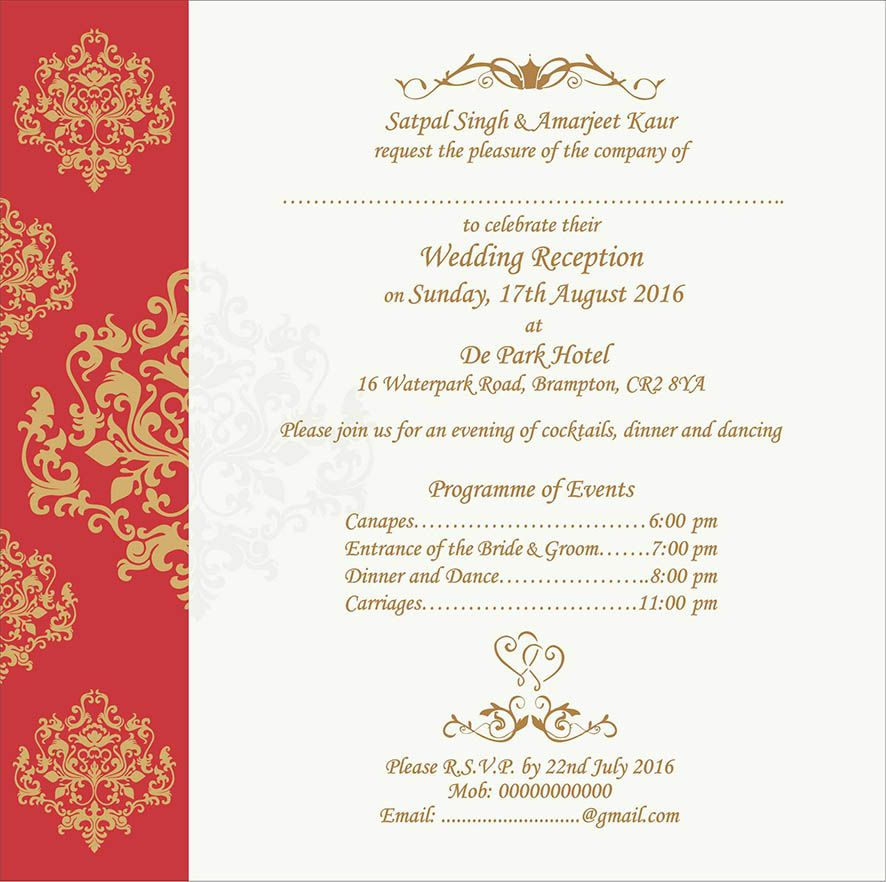 Wedding Invitation Wording For Reception Ceremony Reception Invitations Wedding Card Wordings Wedding Reception Invitation Wording