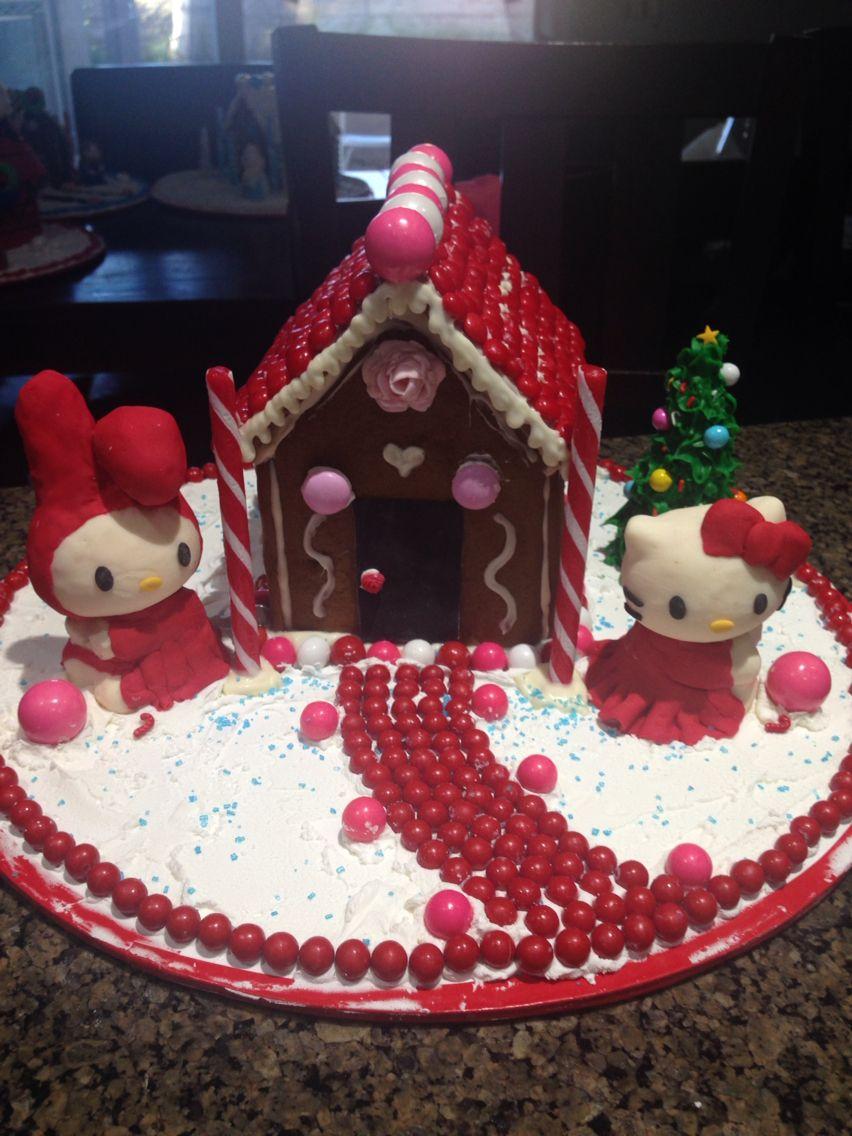hello kitty house cake. | hello kitty | pinterest | the o'jays
