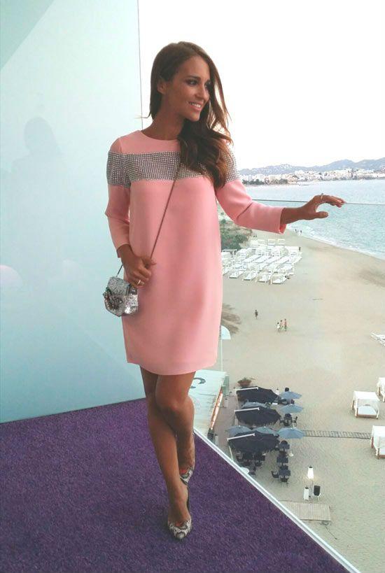 Paula Echevarría vuelve de sus vacaciones en su blog de Elle con dos ...