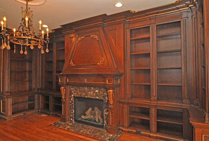 home libraries libraries and classic on pinterest built home library
