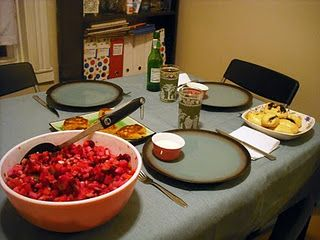 Vinegretas lithuanian side salad with navy beans potatoes recipes forumfinder Choice Image