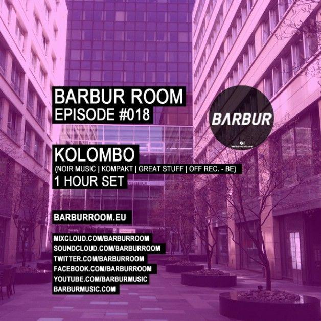Friday 27th Jun. 5.00pm (CET) – STROM:KRAFT presents BARBUR ROOM exclusive Radio Show with KOLOMBO (NOIR MUSIC / OFF REC. – BE)