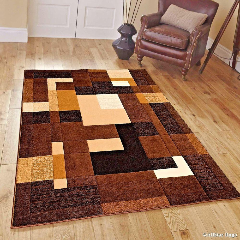 Rugs Area Rugs Carpets 4x5 Area Rug Modern Bedroom Floor Cool Brown 4x5 Rugs Ebay Modern Area Rugs Brown Area Rugs Area Rugs